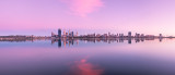 Perth and the Swan River at Sunrise, 10th March 2012