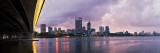 Perth and the Swan River at Sunrise, 31st July 2012