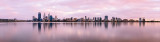 Perth and the Swan River at Sunrise, 4th February 2013