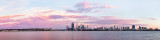 Perth and the Swan River at Sunrise, 11th February 2013