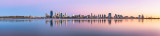 Perth and the Swan River at Sunrise, 2nd March 2013