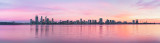 Perth and the Swan River at Sunrise, 19th March 2013