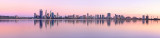 Perth and the Swan River at Sunrise, 22nd March 2013