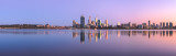 Perth and the Swan River at Sunrise, 28th March 2013
