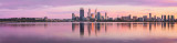 Perth and the Swan River at Sunrise, 5th May 2013