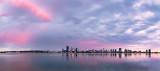 Perth and the Swan River at Sunrise, 4th November 2013