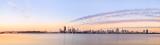 Perth and the Swan River at Sunrise, 13th November 2013