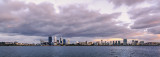 Perth and the Swan River at Sunrise, 29th November 2013