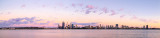 Perth and the Swan River at Sunrise, 11th December 2013