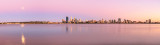 Perth and the Swan River at Sunrise, 17th January 2014