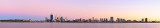 Perth and the Swan River at Sunrise, 1st March 2014