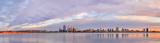 Perth and the Swan River at Sunrise, 14th March 2014