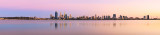 Perth and the Swan River at Sunrise, 20th March 2014