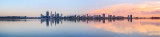 Perth and the Swan River at Sunrise, 27th March 2014