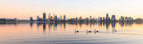 Perth and the Swan River at Sunrise 26th April 2017.jpg