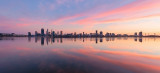 Perth and the Swan River at Sunrise, 30th April 2017