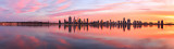 Perth and the Swan River at Sunrise, 29th May 2017