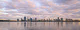 Perth and the Swan River at Sunrise, 8th September 2017