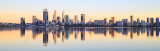 Perth and the Swan River at Sunrise, 29th September 2017