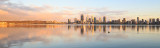 Perth and the Swan River at Sunrise, 19th November 2017