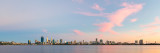 Perth and the Swan River at Sunrise, 24th January 2018