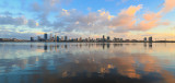 Perth and the Swan River at Sunrise, 4th February 2018