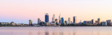 Perth and the Swan River at Sunrise, 1st April 2018