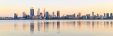 Perth and the Swan River at Sunrise, 5th April 2018