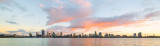 Perth and the Swan River at Sunrise, 8th April 2018