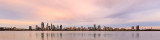 Perth and the Swan River at Sunrise, 27th April 2018