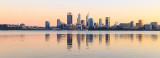 Perth and the Swan River at Sunrise, 9th May 2018