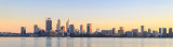 Perth and the Swan River at Sunrise, 18th May 2018