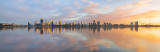 Perth and the Swan River at Sunrise, 6th August 2018