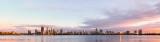 Perth and the Swan River at Sunrise, 6th November 2018