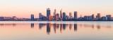 Perth and the Swan River at Sunrise, 8th November 2018