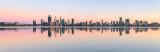 Perth and the Swan River at Sunrise, 15th November 2018