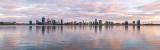 Perth and the Swan River at Sunrise, 18th November 2018