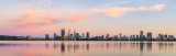 Perth and the Swan River at Sunrise, 3rd December 2018