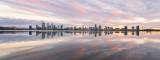 Perth and the Swan River at Sunrise, 5th December 2018