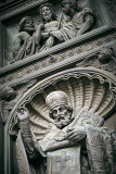 St. Isaac's Cathedral fragment of the door