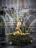 The Grand Cascade and Samson Fountain