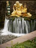 The Samson Fountain, fragment