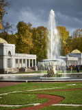 The Samson Fountain, Western bowl.