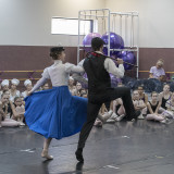 Behind the scenes at Mary Poppins Studio Rehearsal