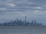 Views of the Toronto skyline