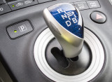 Toyota Prius gear shift and park button