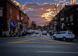 Winter Sunset, Franklin, TN