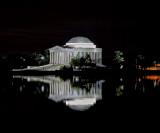 Jefferson Memorial Late Night