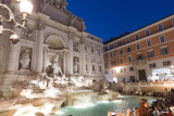 Rome - Fontaine de Trevi by Night - 4720