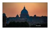 Rome - Dome de la Cathédrale Saint Pierre - 4647